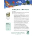 Nesting Boxes and Bird Feeders