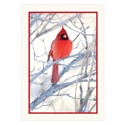 Winter Cardinal Gift-a-Tree Card