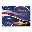 Peace and Freedom Card