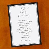 Black and Silver 25th Anniversary