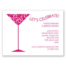 Let's Celebrate - Watermelon - Party Invitation