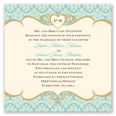 Detailed Elegance - Invitation