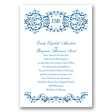 Ornate Date - Horizon - Invitation