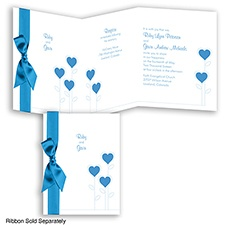 Heart's Garden - Cornflower - Invitation