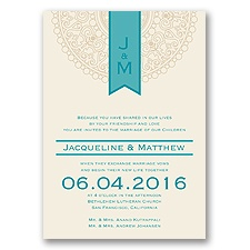 Shangri Love - Malibu - Invitation