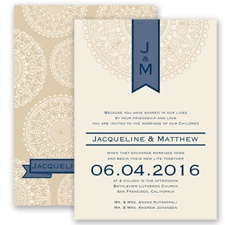 Shangri Love - Marine - Invitation