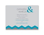 Chevron Style - Malibu - Save the Date