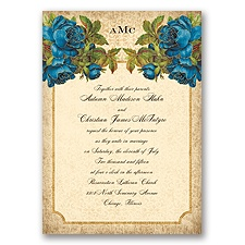 Antique Roses - Horizon - Invitation
