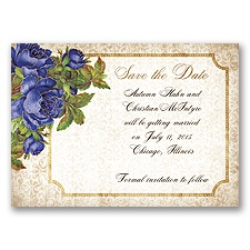 Antique Roses - Regency - Save the Date Magnet