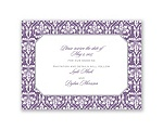Vintage Frame - Save the Date Card
