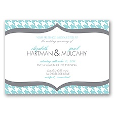 Happily Houndstooth - Pool - Invitation