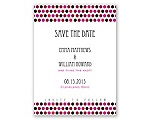 Delectable Dots - Apple - Save the Date