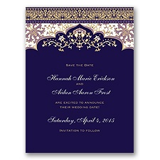 Moroccan Magic - Wisteria - Save the Date