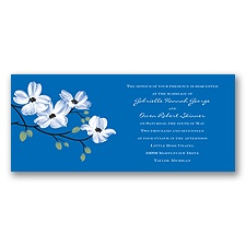 Dogwood Blossoms - Horizon - Invitation