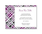 Mad for Plaid - Sangria - Save the Date