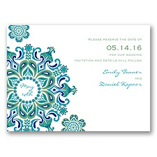 Particularly Paisley - Clover - Save the Date