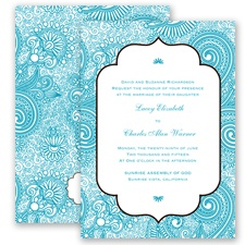 Happily Henna - Malibu - Invitation
