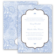 Happily Henna - Bluebird - Invitation