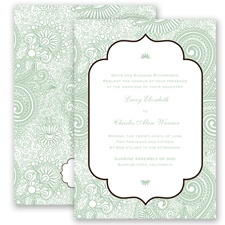 Happily Henna - Meadow - Invitation