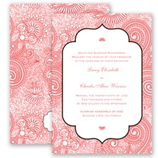 Happily Henna - Guava - Invitation