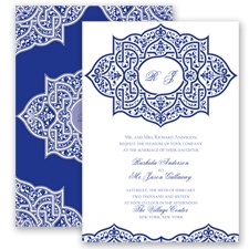 Indian Trellis - Regency - Invitation