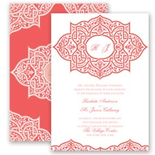 Indian Trellis - Guava - Invitation