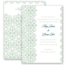 Joyous Day - Meadow - Invitation