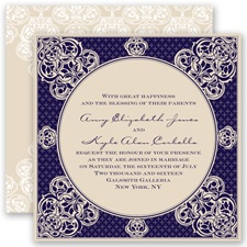 Mehndi Magic - Lapis - Invitation