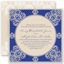 Mehndi Magic - Regency - Invitation