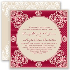 Mehndi Magic - Apple - Invitation