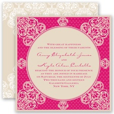 Mehndi Magic - Watermelon - Invitation