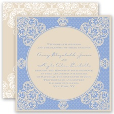 Mehndi Magic - Bluebird - Invitation