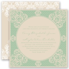 Mehndi Magic - Meadow - Invitation