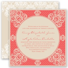 Mehndi Magic - Guava - Invitation