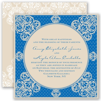 Mehndi Magic - Horizon - Invitation