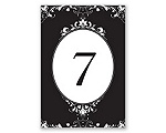 Epic Romance - Table Number Card