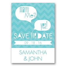 Marry Moment - Pool - Save the Date Magnet
