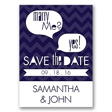 Marry Moment - Lapis - Save the Date Magnet