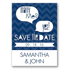 Marry Moment - Marine - Save the Date Magnet
