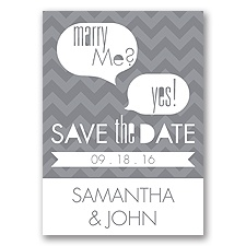 Marry Moment - Mercury - Save the Date Magnet