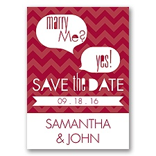 Marry Moment - Apple - Save the Date Magnet