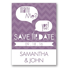Marry Moment - Wisteria - Save the Date Magnet