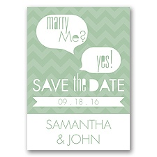 Marry Moment - Meadow - Save the Date Magnet