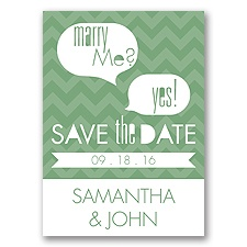 Marry Moment - Clover - Save the Date Magnet