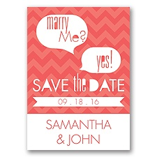 Marry Moment - Guava - Save the Date Magnet