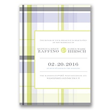 Modern Brights - Lime - Invitation