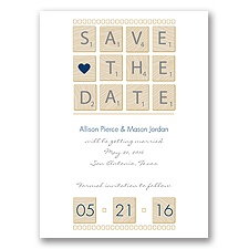 Word Games - Marine - Save the Date