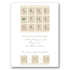 Word Games - Clover - Save the Date