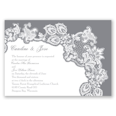 Lacy Delight - Mercury - Invitation