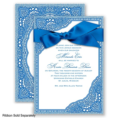 Vintage Romance - Horizon - Invitation